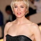 Short haircuts with bangs for women