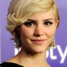 Styling short hairstyles