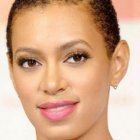 Very short hairstyles for black women