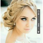 Hairstyle for wedding 2017