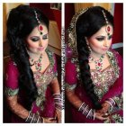 Latest bridal hairstyles 2017