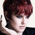 Short hairstyles and colours 2017