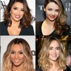 Celebrity hairstyles 2018
