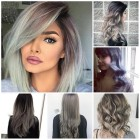 Ombre hairstyle 2018