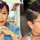 Short black haircuts 2018