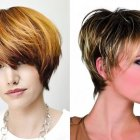The latest short hairstyles 2018