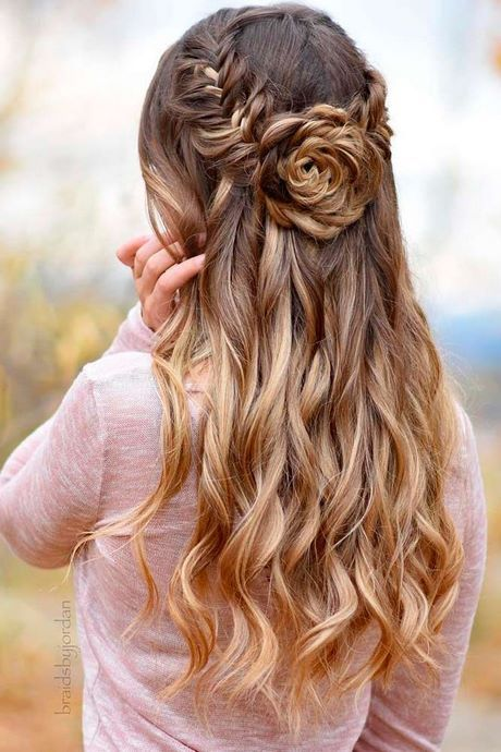 Hair for prom 2021