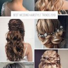 Hairstyles for brides 2021