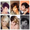 Different kinds of pixie cuts