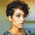 Pixie hairstyles for curly hair