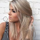 New blonde hair trends 2019