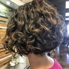 Short curly bobs 2019