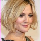 Short haircuts for round faces 2019