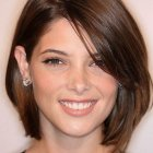 Very short hairstyles for round faces 2019