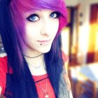 Emo girl hairstyles