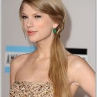 Side ponytail hairstyles