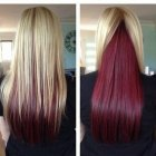 2 color hairstyles
