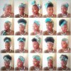 8 hairstyles with scarves
