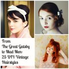 Easy 60s hairstyles