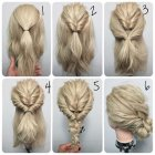 Easy hairdos for thick long hair
