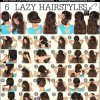 Easy morning hairstyles