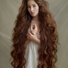 Extremely long hairstyles