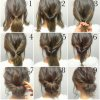 Fast and easy updos for long hair