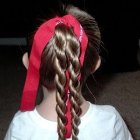 Hairstyles 7 year old