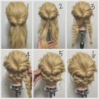 Hairstyles easy updos