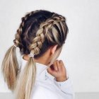 Hairstyles plaits