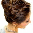 High updos for long hair