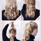 Making different hairstyles