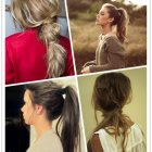 Quick hair style