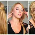 Quick hairstyles for thick long hair
