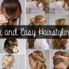 Simple day to day hairstyles