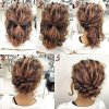 Updos for thick curly hair