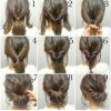 Very easy updos for long hair