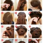 Easy braids for thick hair