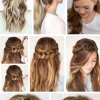 Easy plait hairstyles