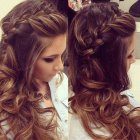 Hairdos for long hair with braids