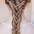 Plaits and braids for long hair
