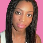 Plaits and braids hairstyles