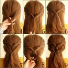 Simple and cute hairstyles
