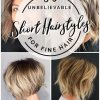 2020 short hairstyles for thin hair