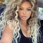 Curly hairstyles for long hair 2020