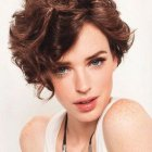 Latest short curly hairstyles 2020