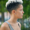 Short hairstyles for natural curly hair 2020