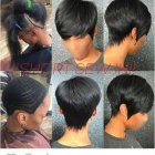 Short hairstyles with weave 2020