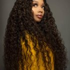 Black curly weave hairstyles 2021