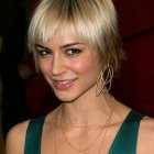 Female celebrity hairstyles 2021